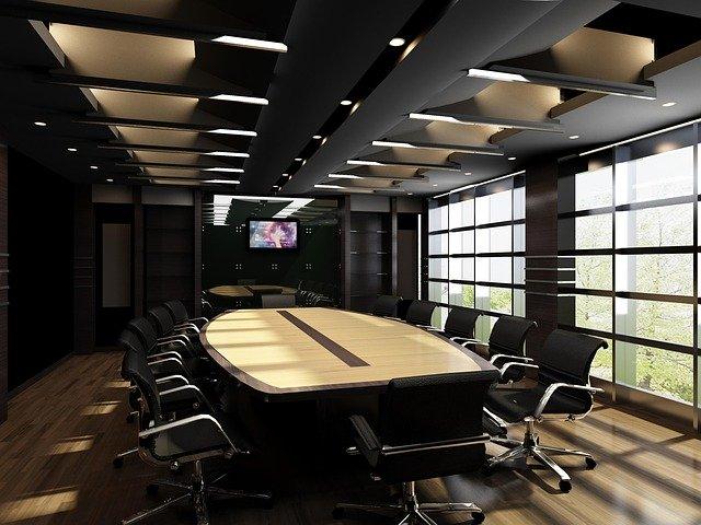 無意味な会議の代表例と会議がなくならない理由|会議の無駄を削減!なぜ会議はムダばかり?|会議室の写真|KEN'S BUSINESS|ケンズビジネス|職場問題の解決サイト中間管理職・サラリーマン・上司と部下の「悩み」を解決する情報サイト