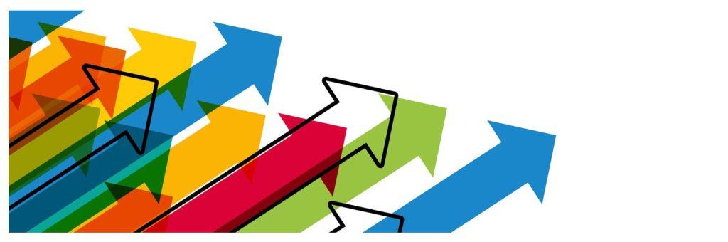 会議をうまく進める!5つの心理学|前向きな矢印の画像|KEN'S BUSINESS(ケンズビジネス)|職場問題の解決サイト中間管理職・サラリーマン・上司と部下の「悩み」を解決する情報サイト