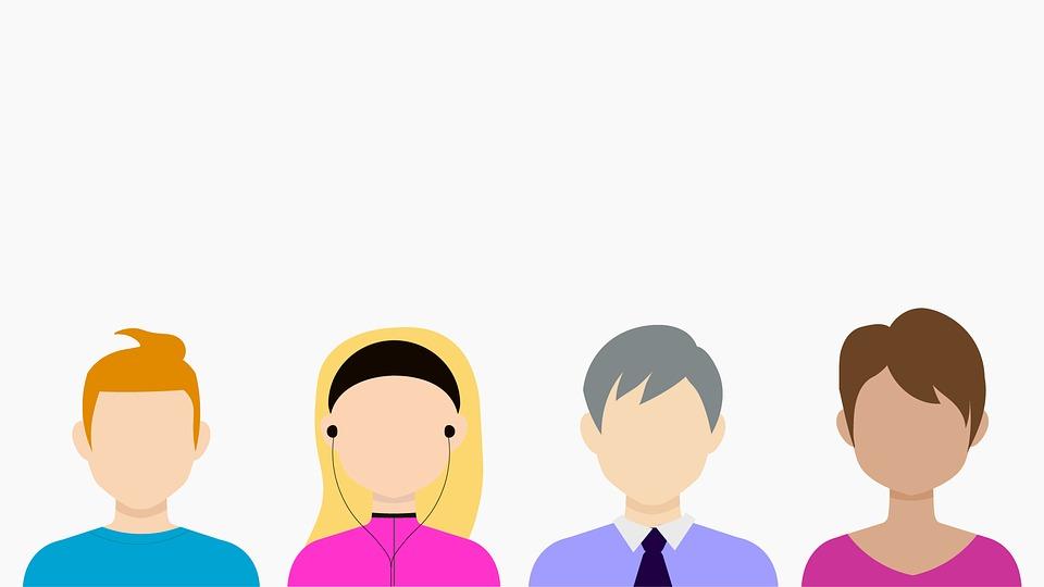 多様な人のイラスト|KEN'S BUSINESS|ケンズビジネス|職場問題の解決サイト中間管理職・サラリーマン・上司と部下の「悩み」を解決する情報サイト